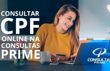 Consultar CPF OnLine na Consultas Prime
