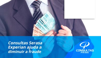 Consultas Serasa ajuda a diminuir a fraude