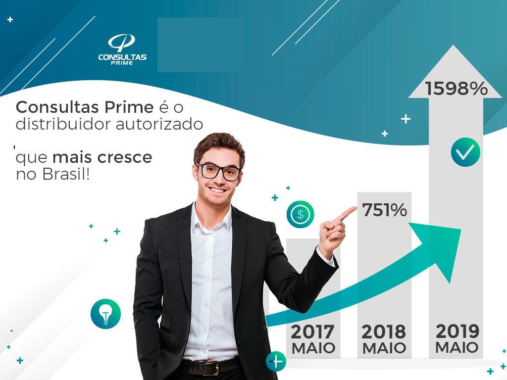 Distribuidor Bureau de Crédito que mais cresce no Brasil