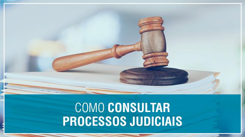 Como consultar Processos judiciais