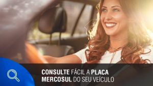 Consulte fácil a placa Mercosul do seu veiculo