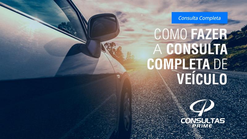 Como fazer consulta de veículo