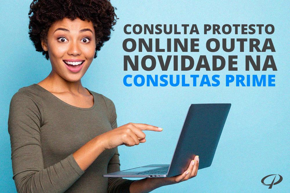 Protesto Online em Cartorio mais uma novidade na Consultas Prime