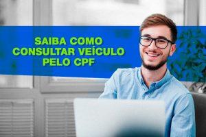 Sabe como consultar veículo pelo cpf