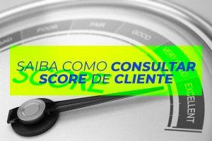 Saiba como Consultar Score de cliente